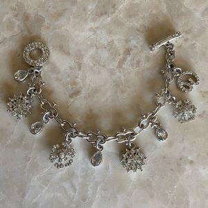 St. John Snowflake Charm Bracelet
